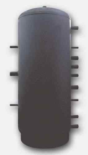 Puffer PR2 cu 2 serpentine,fara izolatie/1500 litri