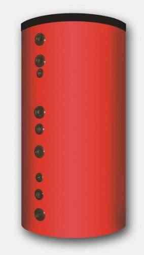 Puffer PR2 cu 2 serpentine,cu izolatie/1500 litri